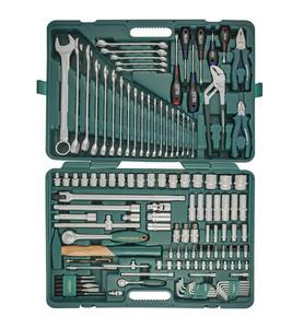Набор инструментов универсальный 1/4 и 1/2 DR, 128 предметов  Jonnesway