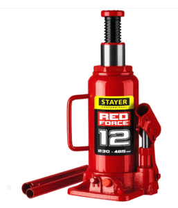 Домкрат 12т STAYER RED FORCE**