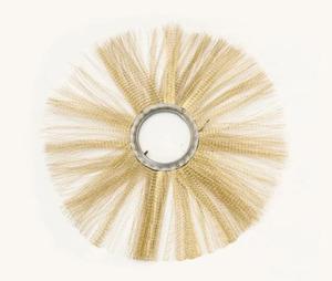Щетка дисковая ММ120х550 металлический сердечник, ворс МЕТАЛЛИЧЕСКИЙ(Техполимер)