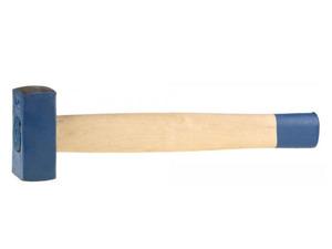 Кувалда литая с деревянной рукояткой 2 кг