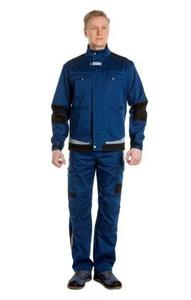 """Куртка """"Азур"""" синий/черный"""