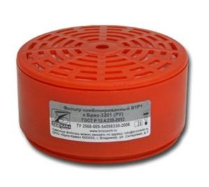 Фильтр-патрон к респиратору РУ-60 (А1P1D) (цена за уп.2 шт)орг