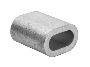 Зажим для троса алюминевый М8