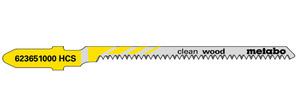 Пилка для лобзика Т101АО 57*1,4 мм (дерево, радиал)