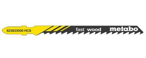 Пилка для лобзика Т144D 74*4мм (по дереву быстрый распил)