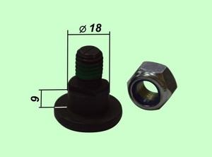 Крепление роторного ножа 42121 (561158 00 К, 16545801, 80201262) 25 шт. в упаковке