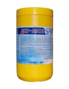 Дезинфицирующие средства Дез-Хлор (300таб/3гр)