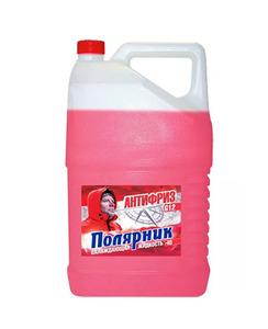 Антифриз Полярник красный 5кг (Дзержинск)