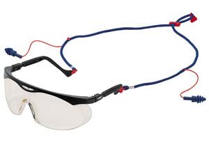 Очки защитные с берушами (прозрачные)
