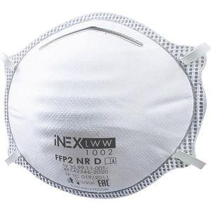 Респиратор iNEX 1022 (FFP2, с клапаном выдоха)