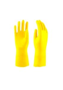 Перчатки резиновые (ворсовые)