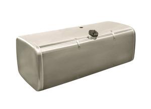 Бак алюминиевый 500л. КМЗ 5664-1101500-04 1550х560х640 (голый с низкой полуоборотной горловиной) ЕВРО
