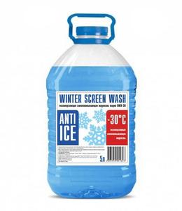 Стеклоомывающая жидкость  5л. до -30  (Зима)