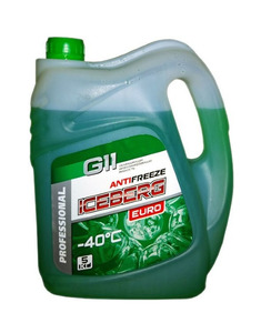 Антифриз ICEBERG (зеленый),  5 кг  G11