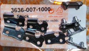 Зуб цепи 3/8Р зуб прав+зв (1,3) РМC/MS 180,210,230,250 арт.3636 007 1000