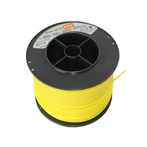 Струна 3,0 мм х 280 м STIHL квадрат. сечение желтый