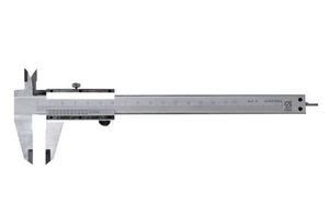 Штангенциркуль, 125 мм, цена деления 0,1 мм, класс 2, ГОСТ 166-89 (15-5-125)