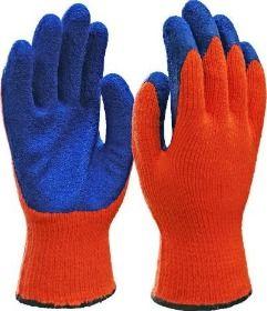 Перчатки утепленные РЫЖИЕ