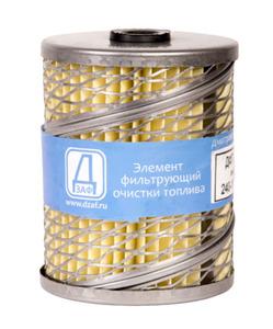 Фильтр топливный (элемент)  ЭФТ-75А.1117040/240-1117030/ ДФТ2607 ( МТЗ,ЮМЗ) 1отверстие
