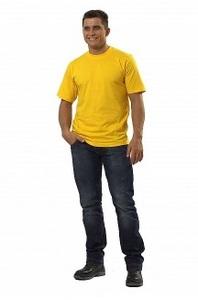 Футболка цв.желтый
