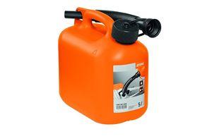 Канистра для бензина оранжевая 5л