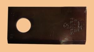 Нож роторный правый RADURA косилки Fella, Rotex, BCS 98х48х4мм(д.19) 42009(58036090, BCS 36090)
