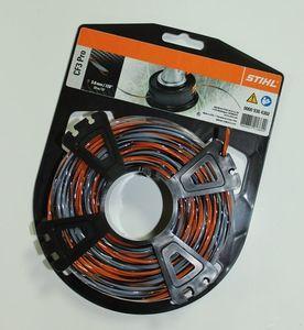 Струна 3,0 мм x 22 м STIHL Carbon крестообразного сечения оранж/сер
