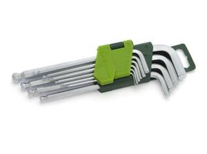Набор ключей имбусовых 1,5-10 мм, с шаром/562101