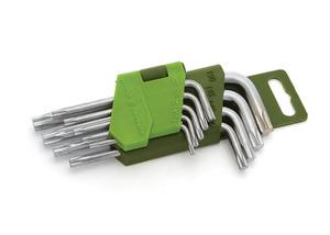Набор ключей имбусовых T10-T50, 9 шт.,  короткие TORX/563090