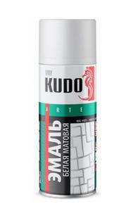 Краска-аэрозоль KUDO белая матовая