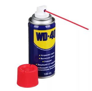 Смазка проникающая WD-40, 100 мл.