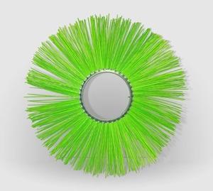 Щетка дисковая МП180/550 металлический сердечник,ворс полипропилен уп.10шт.(Техполимер)
