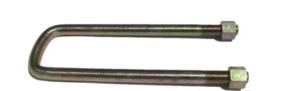 Стремянка рессоры 887Б-290.2408-20 прицеп 2ПТС-4 квадрат в сборе с гайками