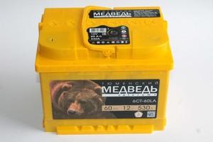 Аккумулятор 6 СТ 60 АПЗ Тюменский медведь