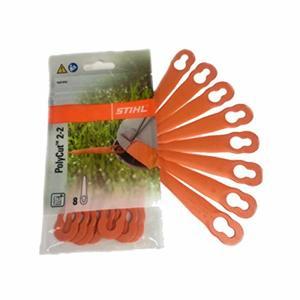Набор пластмассовых ножей для PolyCut 2-2 (8шт) FSA 45