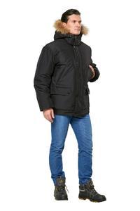 "Куртка ""Аляска"" укор. черная"
