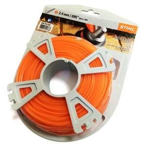 Струна 2,4 мм х 48 м STIHL пятиугольного сечения оранжевый